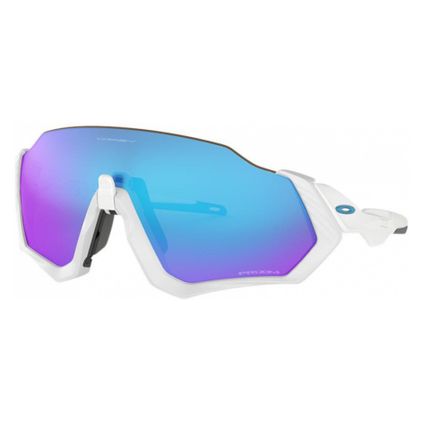 Oakley Man OO9401 Flight Jacket - Frame color: White, Lens color: Blue, Size 01-37/136