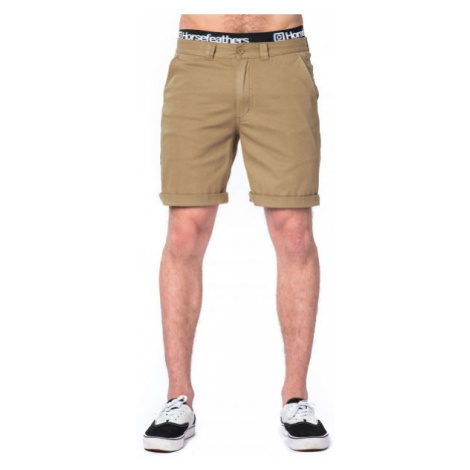 Horsefeathers MACKS SHORTS brown - Men's shorts