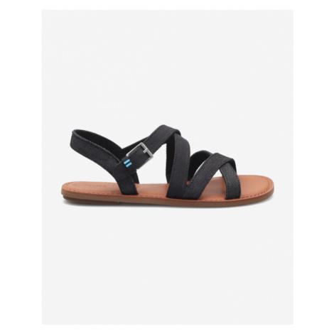 TOMS Sicily Sandals Black