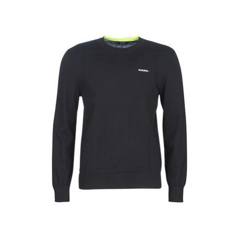 Diesel K LAUX men's Sweater in Black