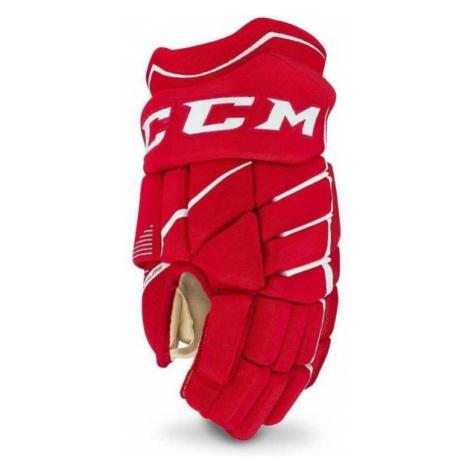 Red hockey equipment