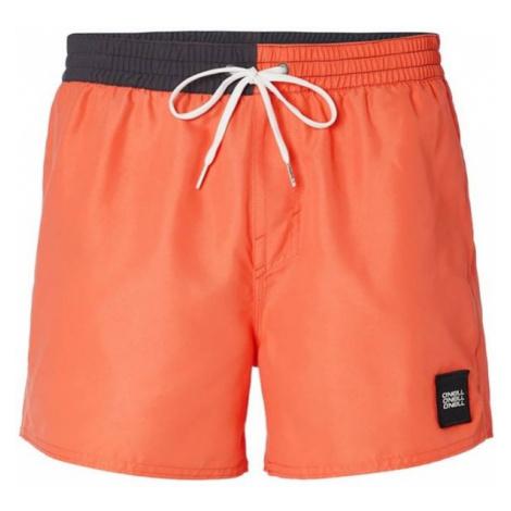 O'Neill PM BLOCKED SHORTS orange - Men's water shorts