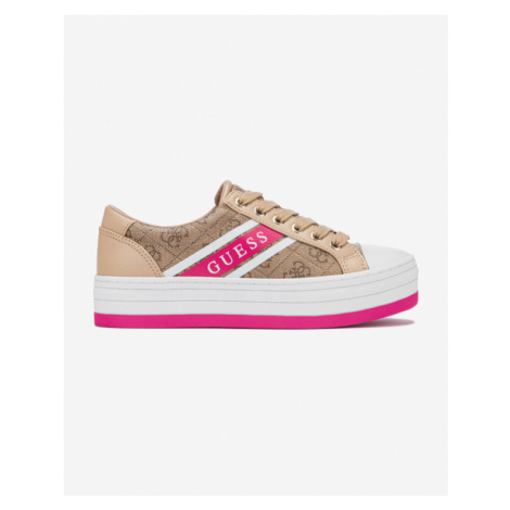 Women's canvas trainers Guess