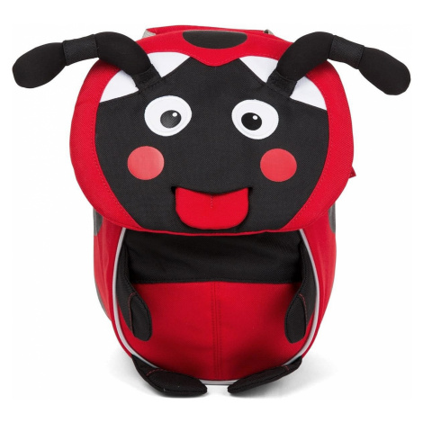 backpack Affenzahn Lilly Ladybird - Red/Black/Gray