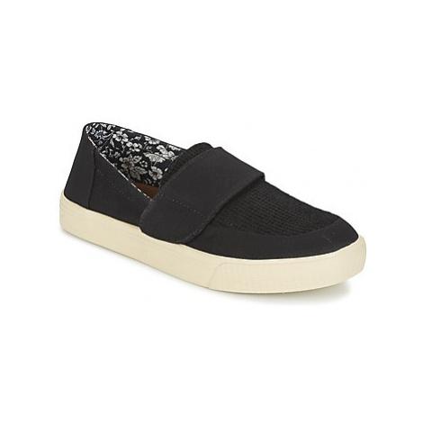 Toms ALTAIR SLIP-ON women's Slip-ons (Shoes) in Black