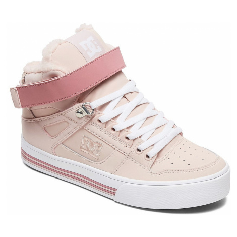 shoes DC Pure High -Top V WNT - PEC/Peachie Peach - women´s