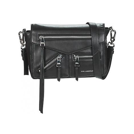 Karl Lagerfeld K/ODINA SMALL CROSSBODY women's Shoulder Bag in Black