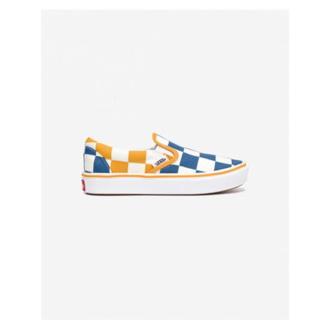 Vans Slip On Kids Blue Yellow White
