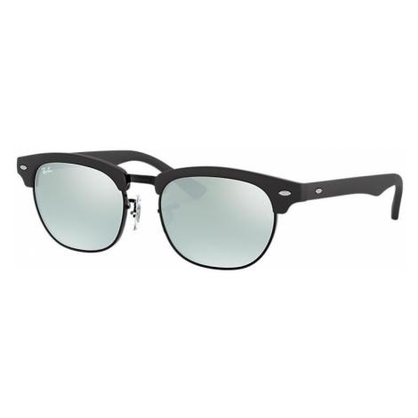 Ray-Ban Clubmaster junior Unisex Sunglasses Lenses: Gray, Frame: Black - RJ9050S 100S30 47-16