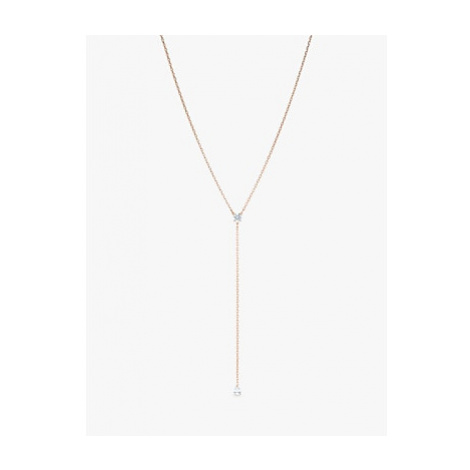 Swarovski Attract Soul Y Pendant Necklace, Rose Gold