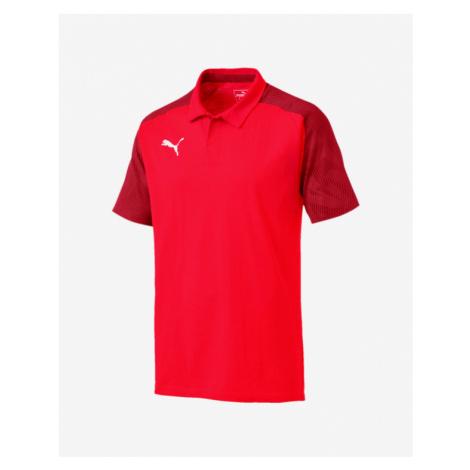 Puma Cup Sideline Polo Shirt Red