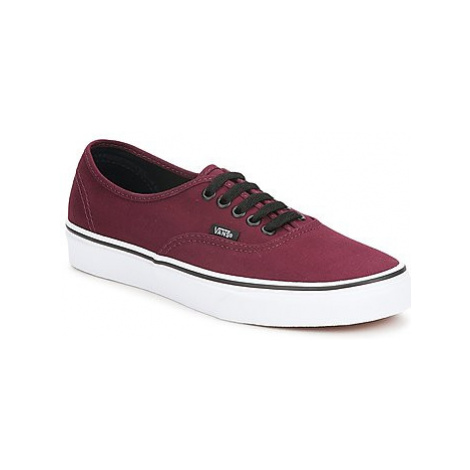 Vans AUTHENTIC women's Shoes (Trainers) in Bordeaux