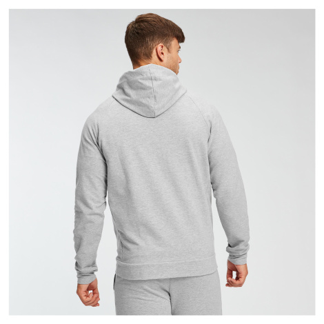 MP Men's Form Zip Up Hoodie - Grey Marl Myprotein