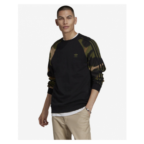 adidas Originals Camo Crew Sweatshirt Black