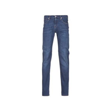 Yurban IHELENN SLIM men's Skinny Jeans in Blue