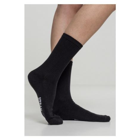 Urban Classics Logo Sport Socks 3-Pack black