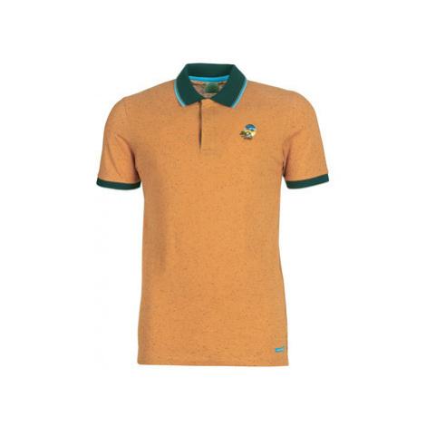 Jack Jones JORSTYSTA men's Polo shirt in Orange Jack & Jones