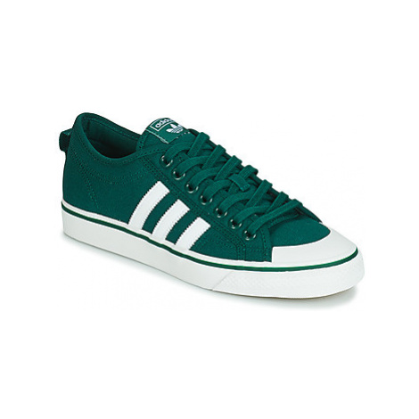 Adidas NIZZA men's Shoes (Trainers) in Green