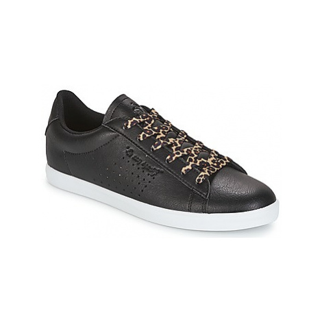 Le Coq Sportif AGATE ANIMAL women's Shoes (Trainers) in Black