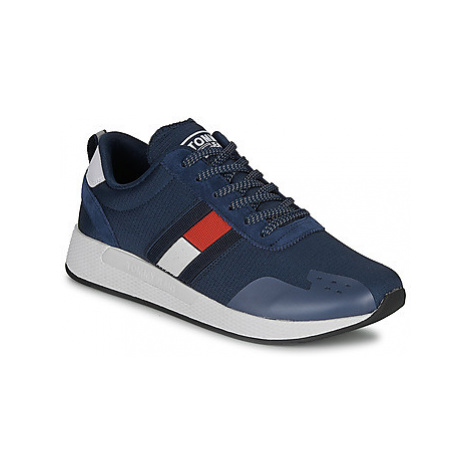 Tommy Jeans FLAG FLEXI TOMMY JEANS SNEAKER men's Shoes (Trainers) in Blue Tommy Hilfiger