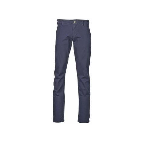 Blue men's casual trousers