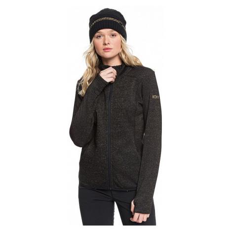 sweatshirt Roxy Harmony Shimmer Zip - KVJ0/True Black - women´s