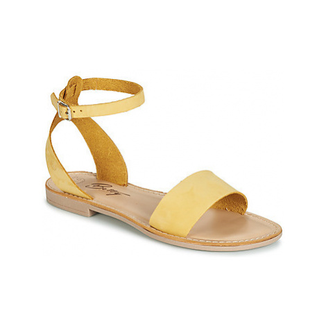 Betty London GIMY women's Sandals in Yellow