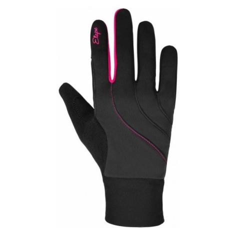Etape AMBER WS+ dark gray - Women's insulated gloves