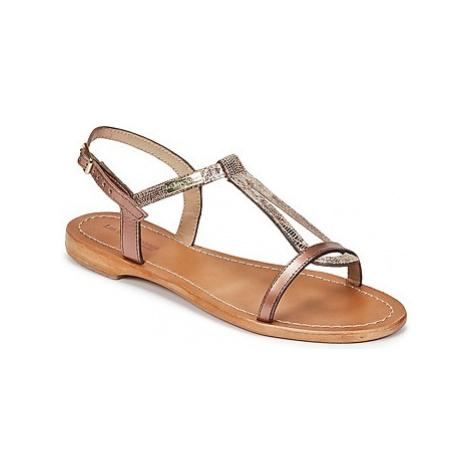 Les Tropéziennes par M Belarbi HAMAT women's Sandals in Gold