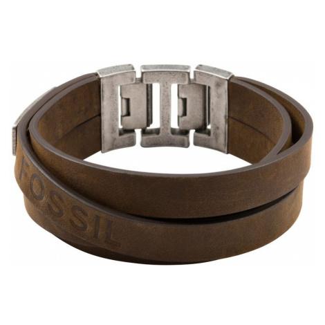 Mens Fossil Stainless Steel Bracelet