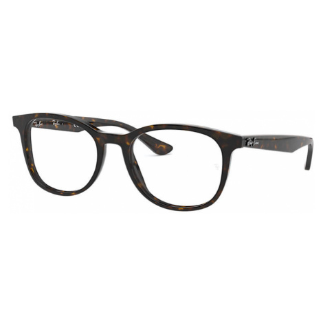 Ray-Ban Rb5356 Man Optical Lenses: Multicolor, Frame: Tortoise - RB5356 2012 52-19