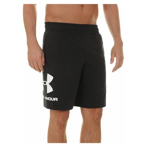 shorts Under Armour Sportstyle Cotton Graphic - 001/Black - men´s