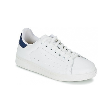 Yurban SATURNA men's Shoes (Trainers) in White