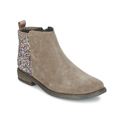 Acebo's MERY girls's Children's Mid Boots in Brown
