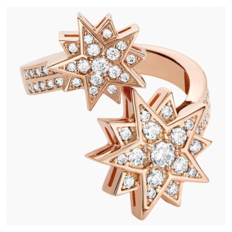 Penélope Cruz Moonsun Ring, Limited Edition, White, Rose-gold tone plated Swarovski