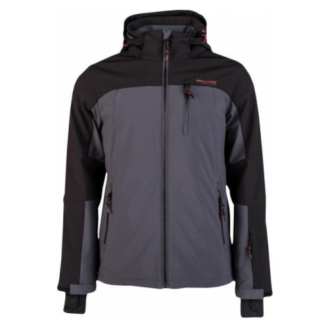Willard ROCCO grey - Men's softshell ski jacket