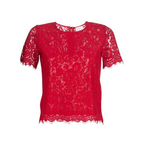 Moony Mood KEMI women's Blouse in Red