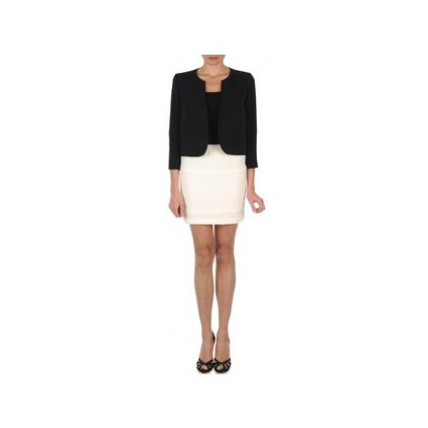 Lola JUMBO CORDONNETTO women's Skirt in White