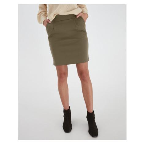 ICHI Kate Skirt Green