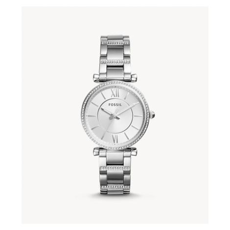 Fossil Women's Carlie Three-Hand Stainless Steel Watch