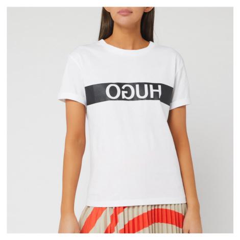 HUGO Women's Datina Short Sleeve T-Shirt - Open Miscellaneous Hugo Boss