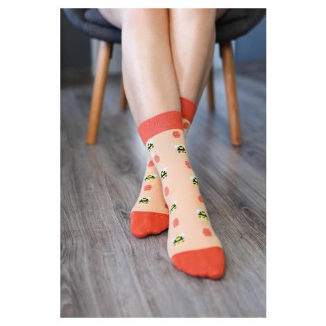 Barefoot Socks - Crew - Bees 43-46