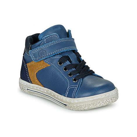 Citrouille et Compagnie JERA boys's Children's Shoes (High-top Trainers) in Blue