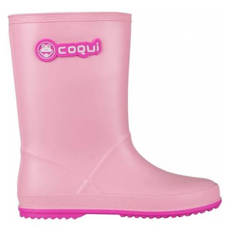 Coqui RAINY light pink - Children's wellies