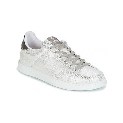Victoria DEPORTIVO TEJIDO FANTASIA women's Shoes (Trainers) in Silver