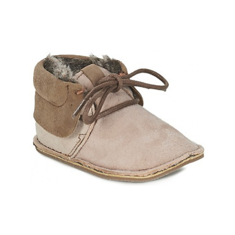 Citrouille et Compagnie FELOPE girls's Children's Slippers in Beige