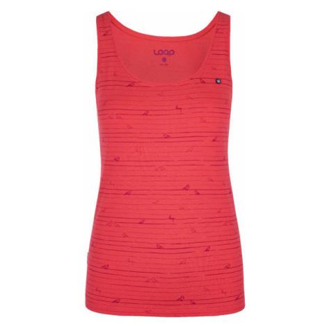 Loap BATIANY pink - Women's tank top