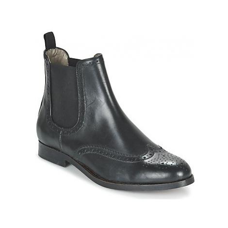 Hudson ASTA CALF women's Mid Boots in Black Hudson London