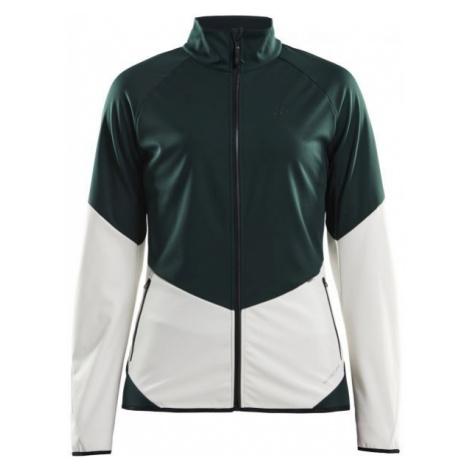 Craft GLIDE green - Women's softshell jacket