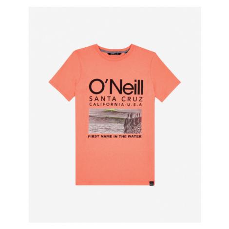 O'Neill The Point Kids T-shirt Orange
